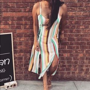 Xhilaration Multicolored Dress